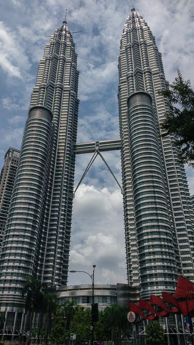 petronas tower in malasya from the square best place to visit in southeast asia