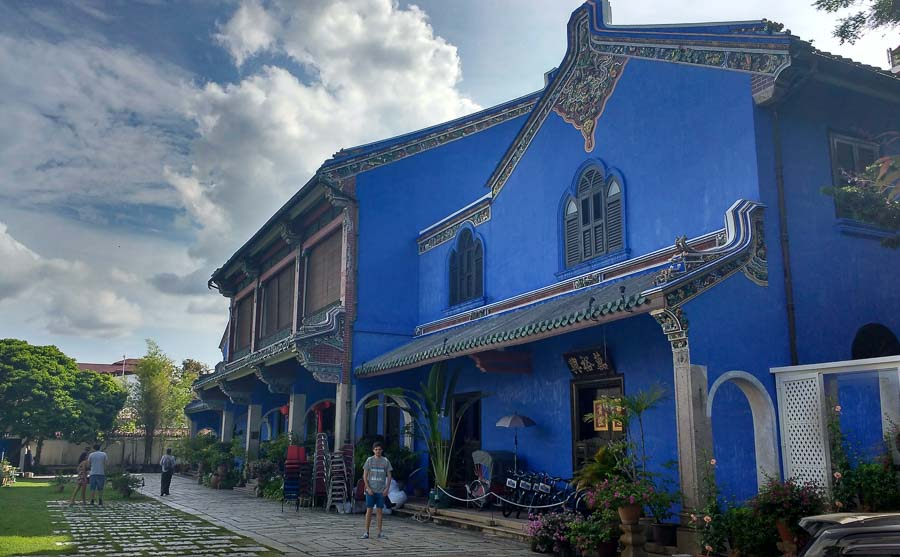 Blue mansion george town