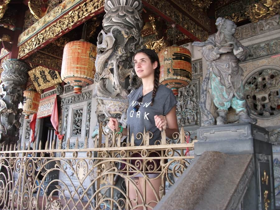 Things to do in george town penang. Upper floor of Khoo Kongsi Temple
