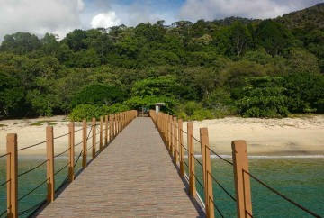 [:es]Pentai Kerachut muelle (Parque Nacional de Penang) Malasia[:en]Pentai Kerachut from its pier (Penang National Park) Malaysia[:]