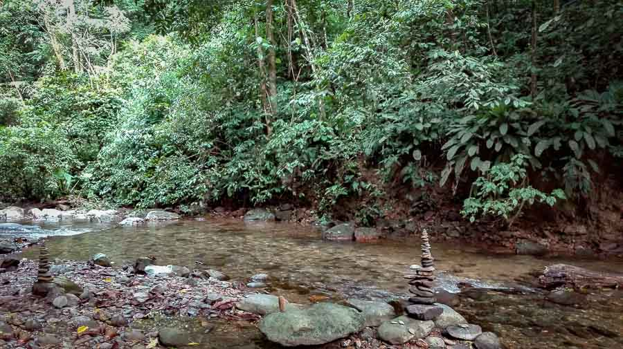 Camp River Shore in Bukit Lawang Sumatra