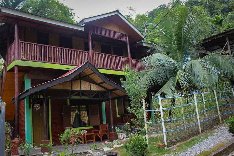 Rain Forest Guest House Bukit Lawang Jungle Hotel Sumatra