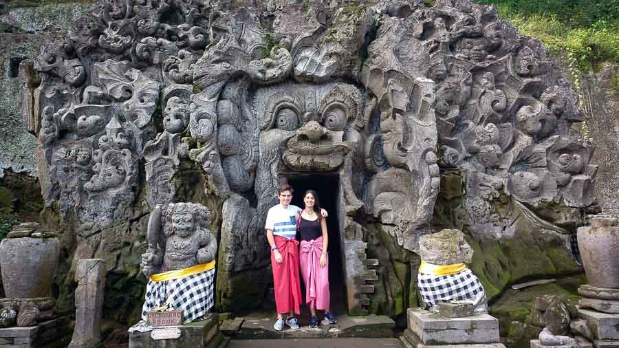 goa gajah the elephant cave, something you have to visit in Bali