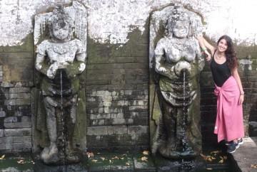 cuando viajar a Bali - Fuente Goa Gajah
