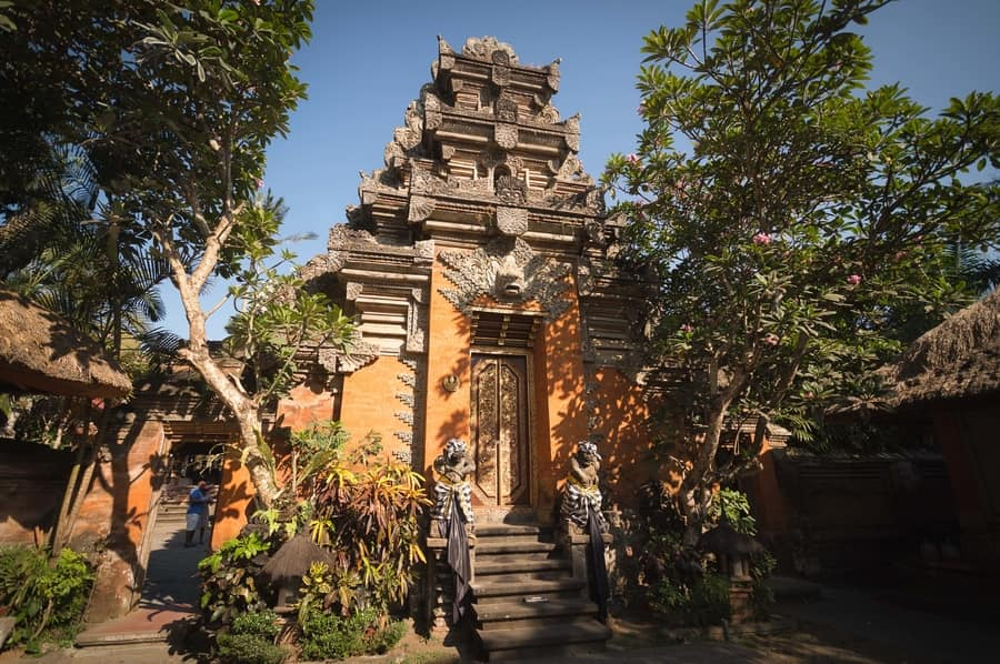best villages to visit in bali ubud palace