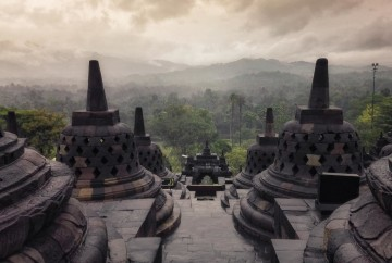 travel to the southeast asia 20 days borobudur temple