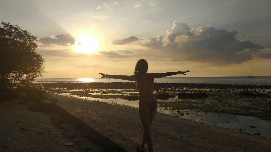 sunset at gili trawangan best places to go