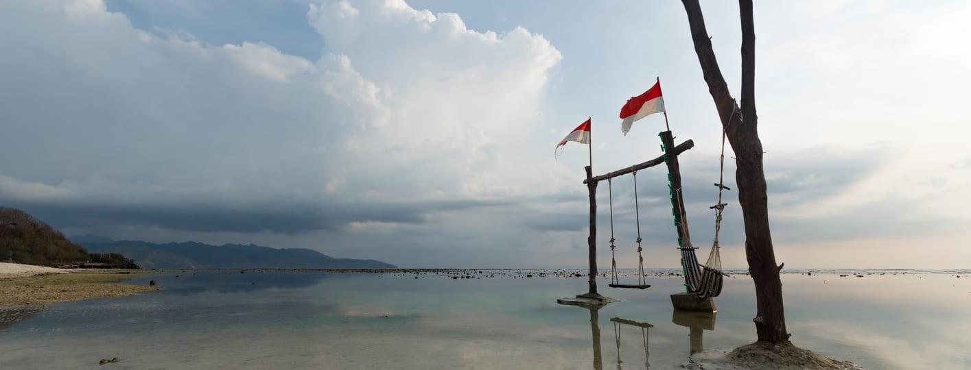 mejores lugares para ver el atardecer en gili trawangan mejores playas