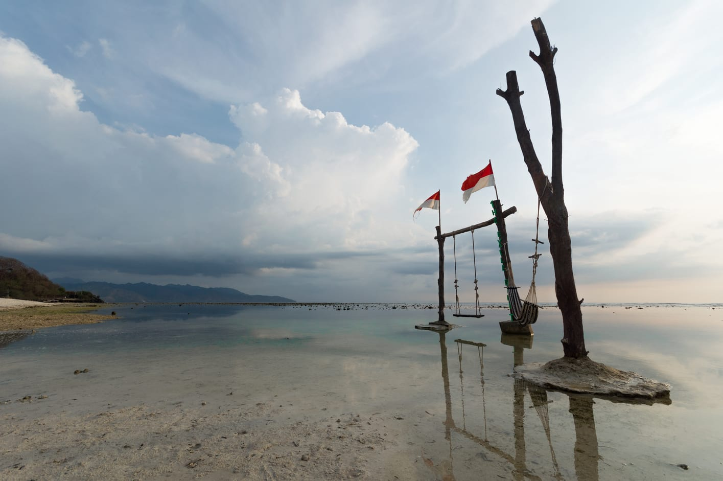 swing in gili islands best places to visit