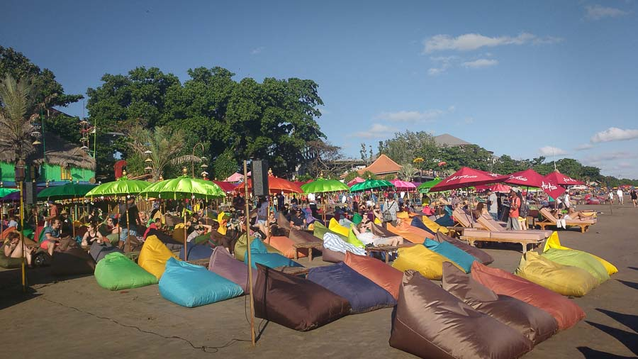 seminyak es one of the best beach to see in bali