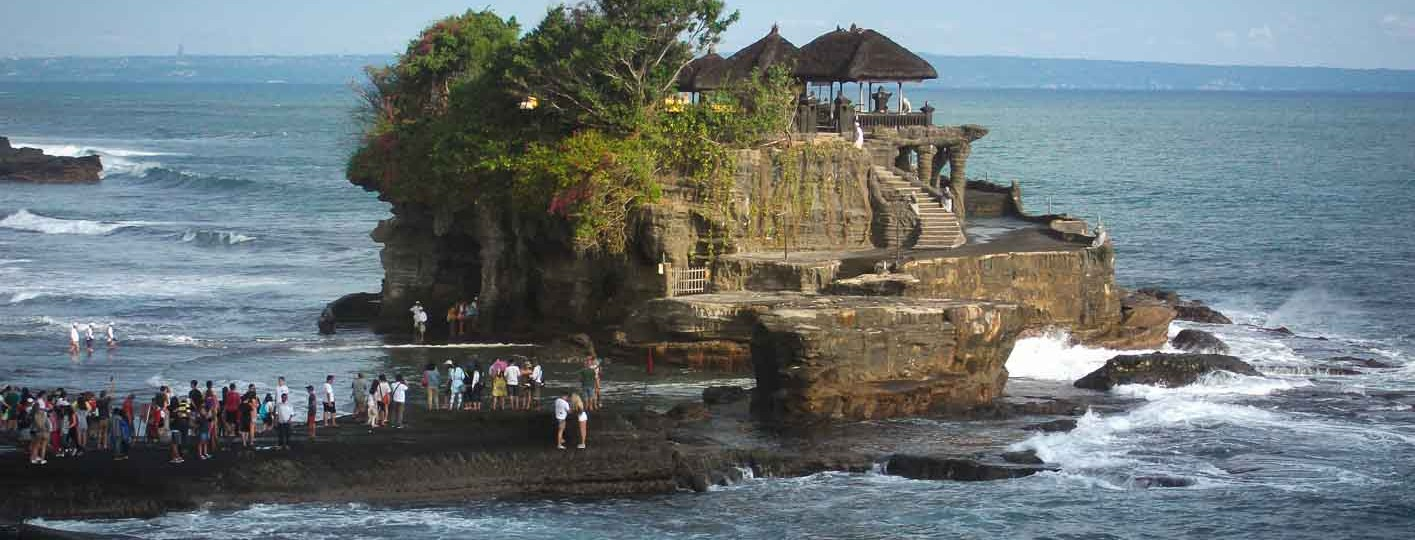 Tanah Lot temple best temple to visit in Bali Indonesia