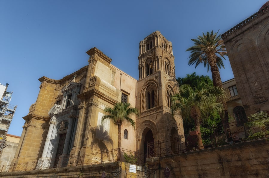 what to do in palermo in one day. Chiesa de San Cataldo in Palermo Sicily. cruise palermo