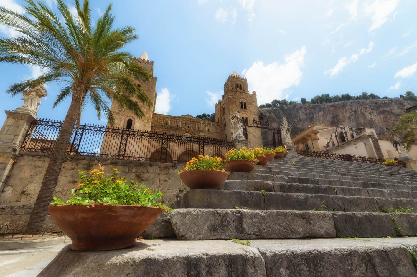 Duomo di Cefalú in sicily main attractions in cefalu in one day visit
