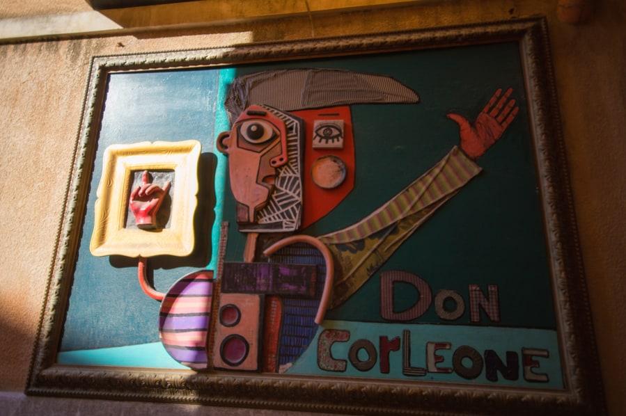 Don Corleone Taormina Sicily Italy