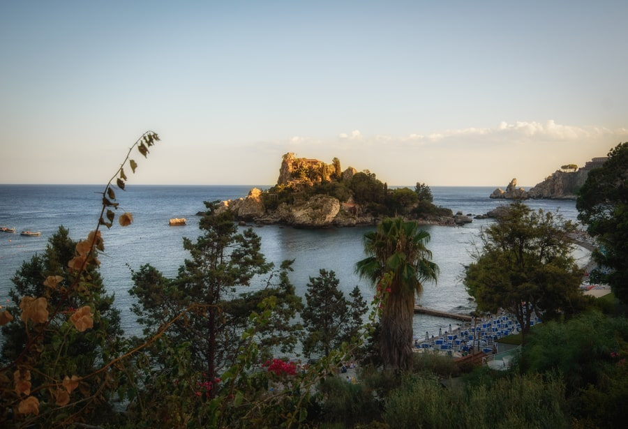 Isola Bella Sicily Italy. 10-day road trip to sicily