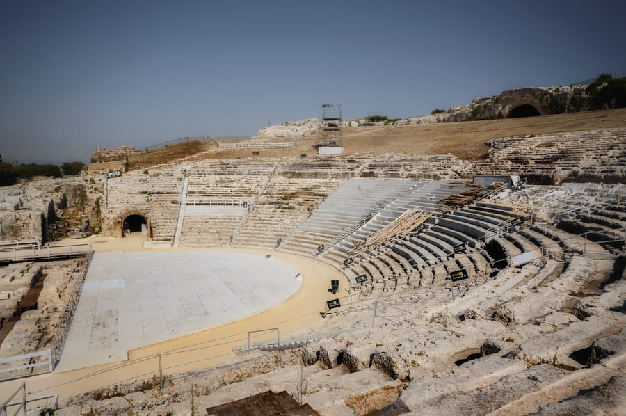 Greek Theater Syracuse italy tourism sicily