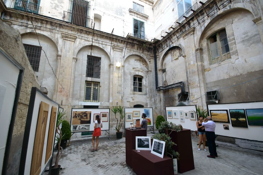 Art Gallery in Modica Sicily Italy