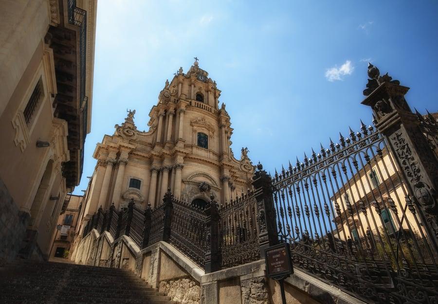 ruta sicilia Duomo di San Giorgio Ragusa Sicilia Sudoriental Italia. Viaje a Sicilia 10 dias
