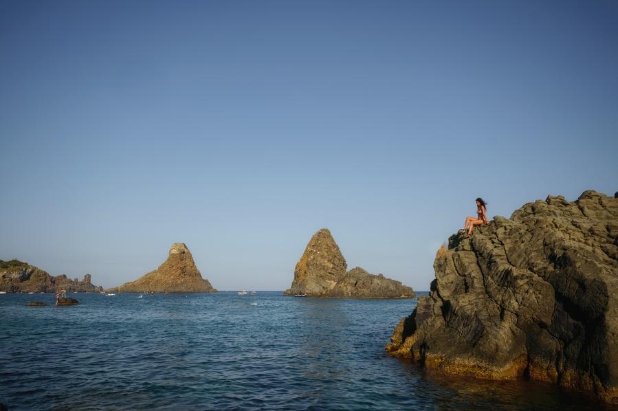 conseguir la visa Schengen para viajar a Sicilia a los faraioni dei ciclope en aci trezza europa