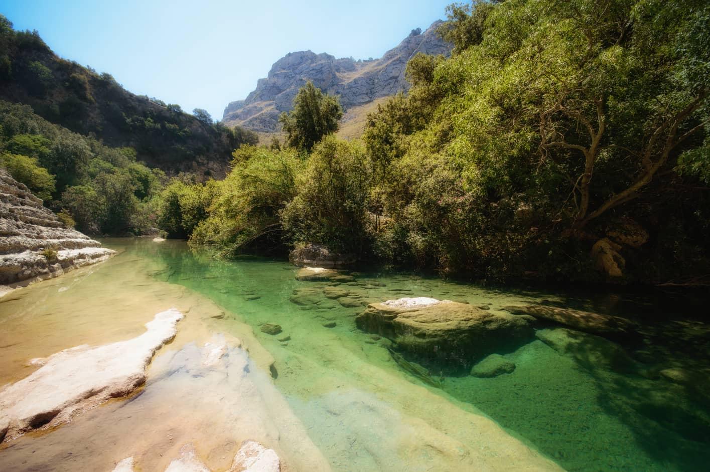 Cava Grande de Cassibile Nature Reserve, places to visit Sicily