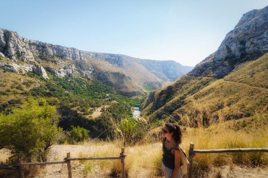 Riserva Naturale Orientata Cavagrande del Cassibile Sicily Italy