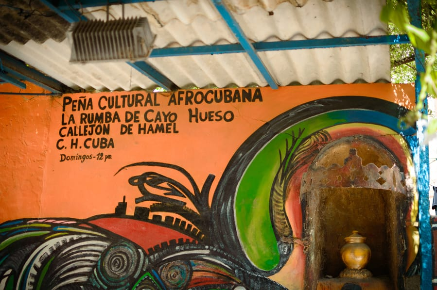 Callejón de Hamel Afro Cuban culture havana Cuba. Things to do in Havana