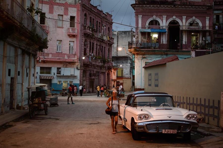 Guia de cosas que hacer en la Habana. Calles de la Habana centro Cuba