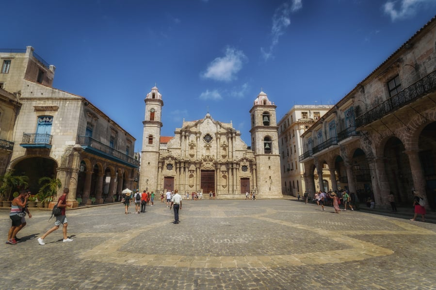 Havana Cathedral Square Cuba. Guide to top things to do in Havana