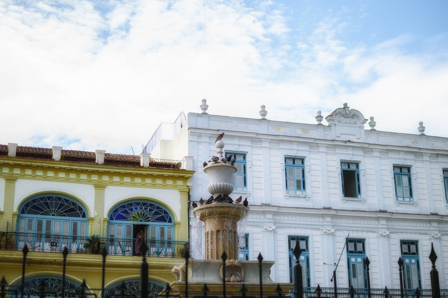 Top things to do in Havana. Plaza vieja font Havana Cuba
