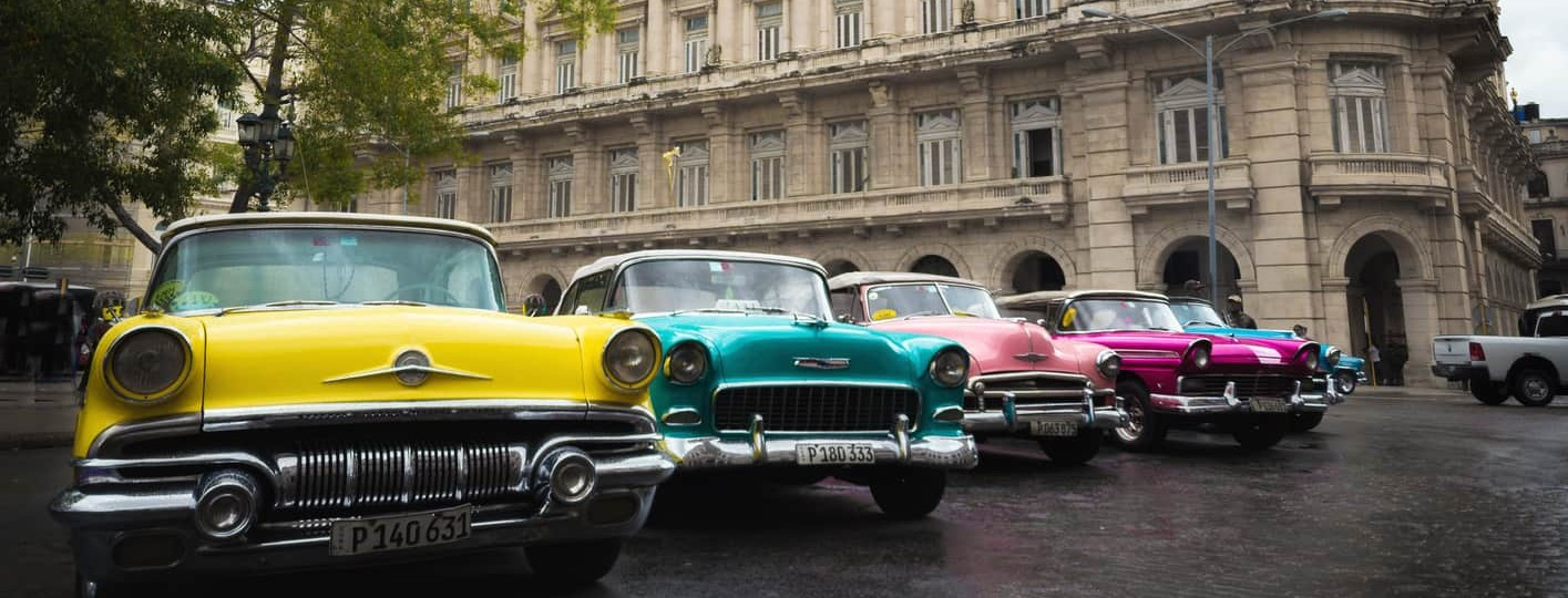 how to plan a trip to cuba colorful cadillac havana