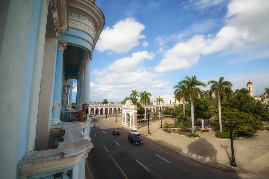 palace ferrer balconies cienfuegos in one day
