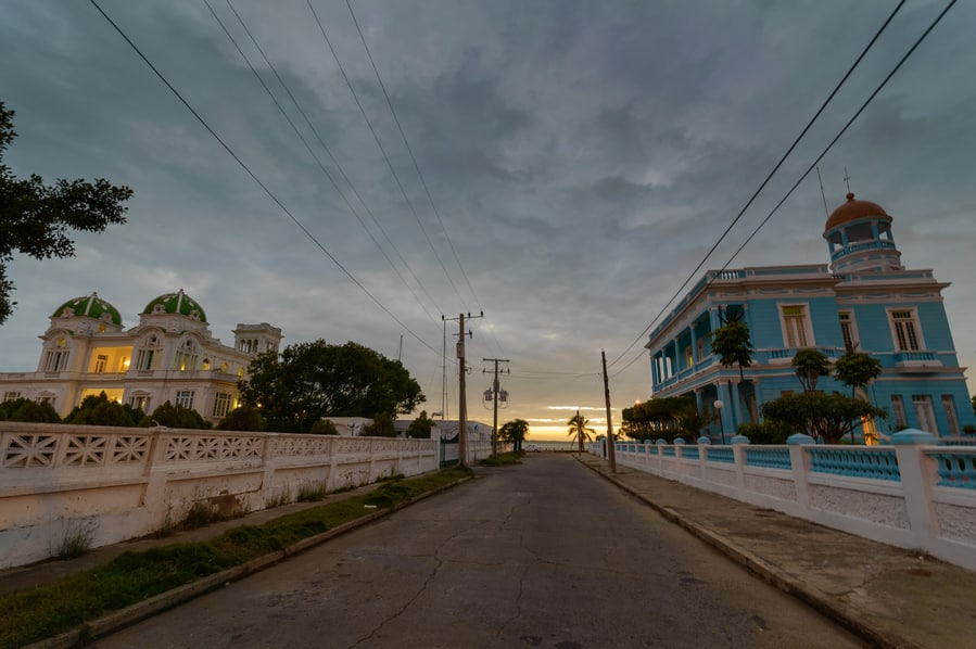cienfuegos mansion cuba in 15 days punta gorda