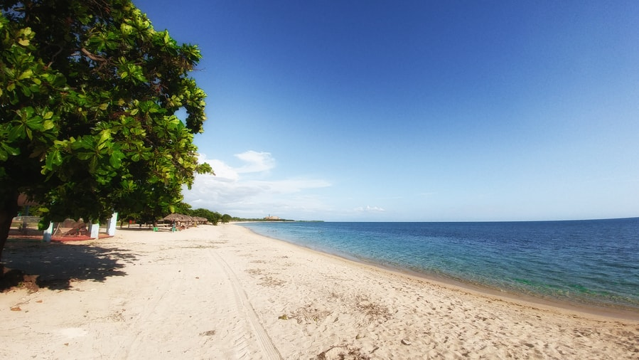 playa ancon in trinidad cuba relax
