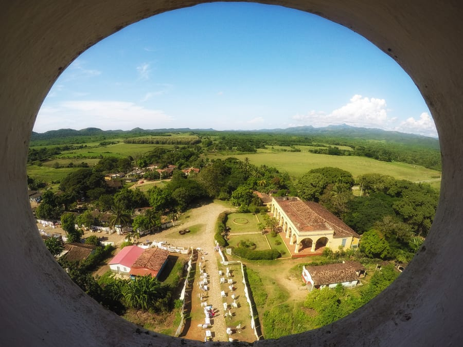 manaca iznaga tower valley of the sugar mills things to do in trinidad cuba