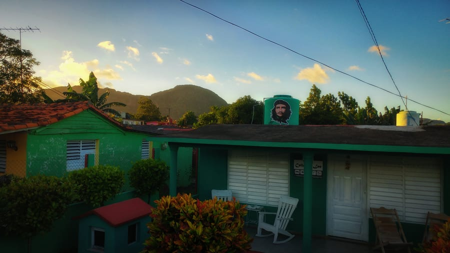 where to stay in viñales cuba for holidays private house