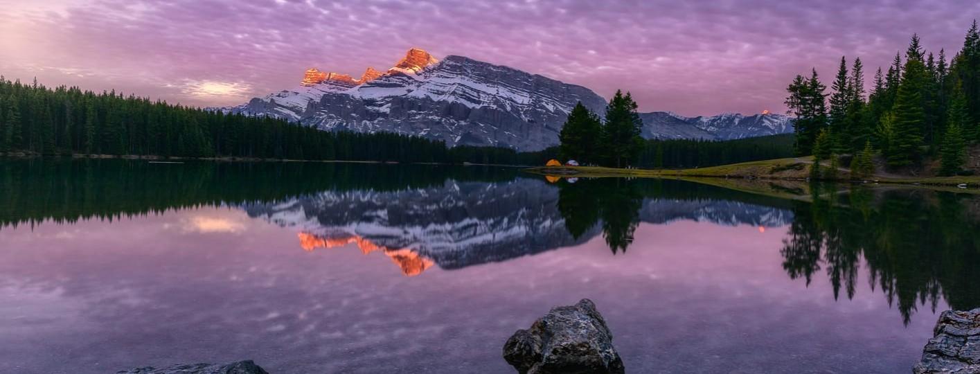 [:es]Viaje de 15 días a las Montañas Rocosas de Canadá. Two Jack Lake - Banff[:en]Two Jack Lake Banff Canada Rocky Mountains [:]