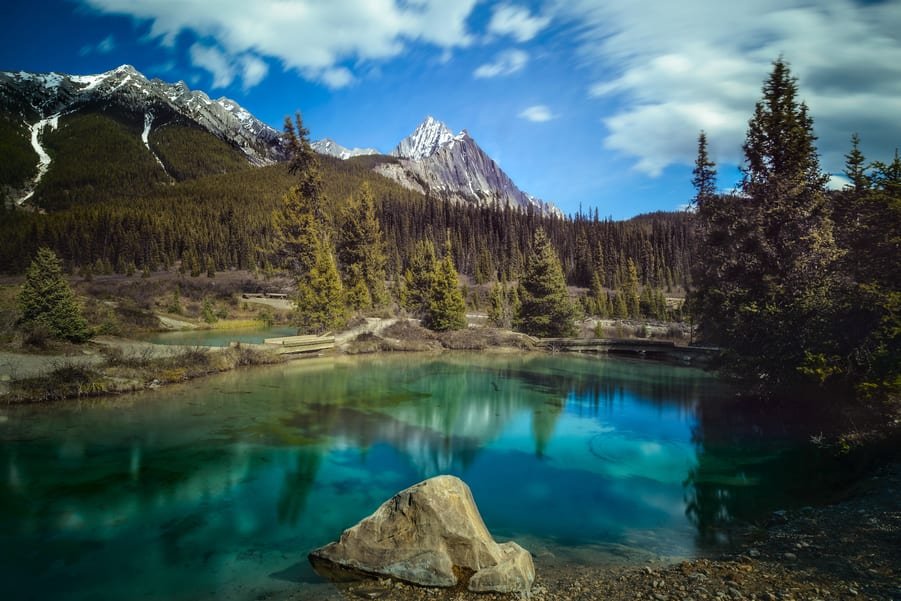 Inkpots best places to visit in Banff alberta canada