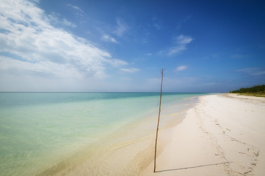 the paradise of cayo jutias in cuba