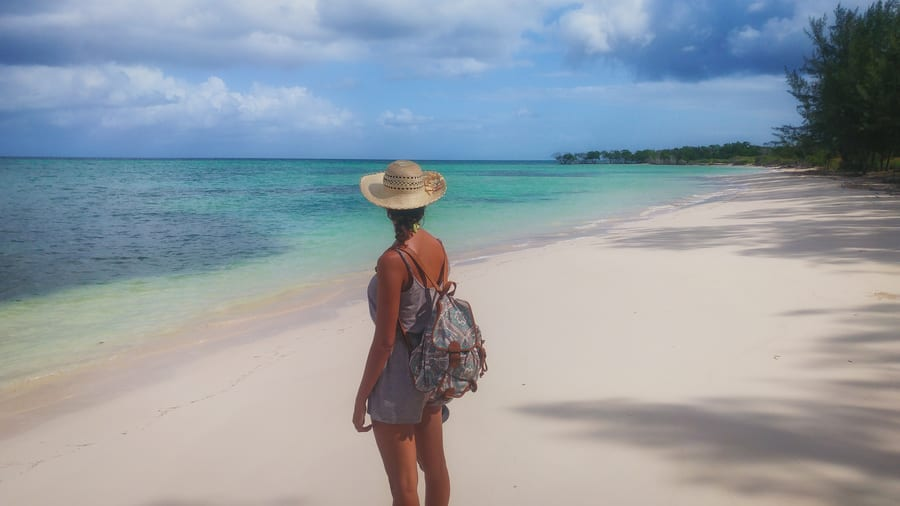 east beach of cayo jutias cuba in one day