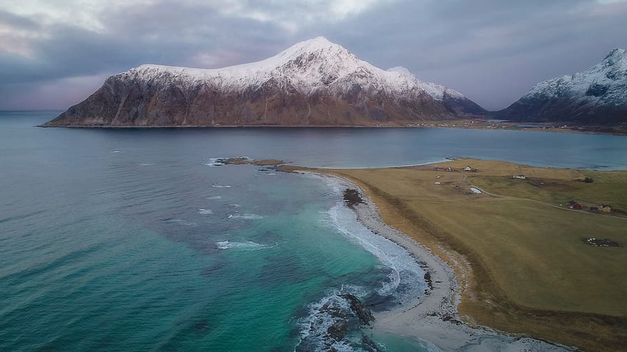 Best way yo get to Lofoten Islands
