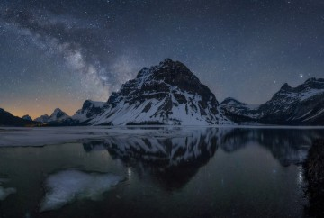 guide to photograph the milky way and get rid of noise in lightroom