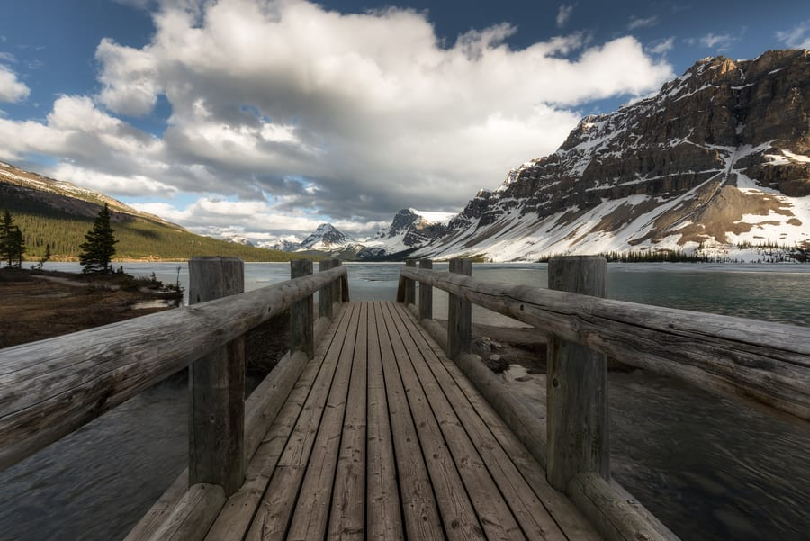 bow lake icefields parkway thing to do in Banff in 6 days