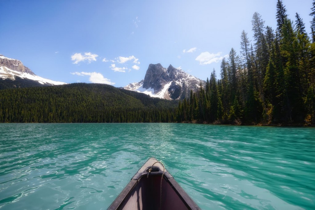 "Rowing in paradise - <a href=""https://capturetheatlas.com/things-to-do-yoho-national-park-canada/"">Yoho National Park.</a> <a href=""https://capturetheatlas.com/canadian-rockies-road-trip-15-days/"">Canada.</a>"