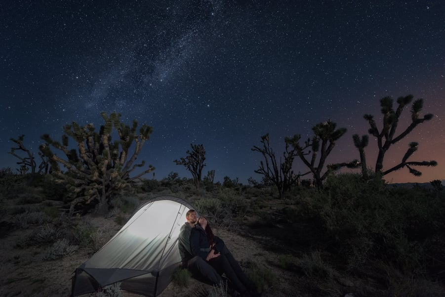 where to camp in mojave national preserve