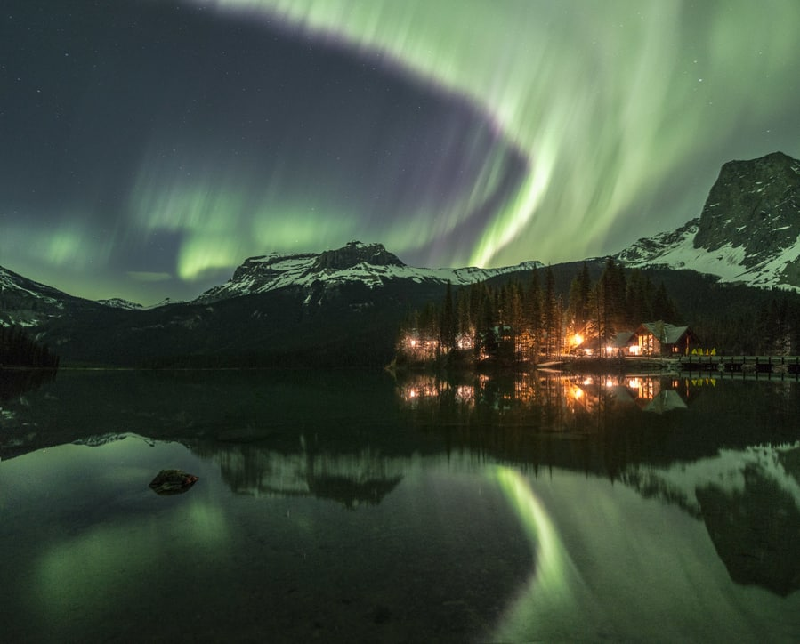Northern lights forecast in Canada