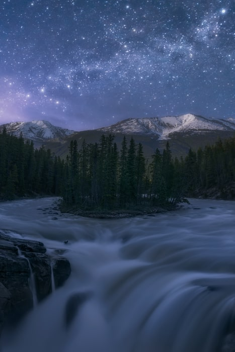 canadian rockies photo night tour