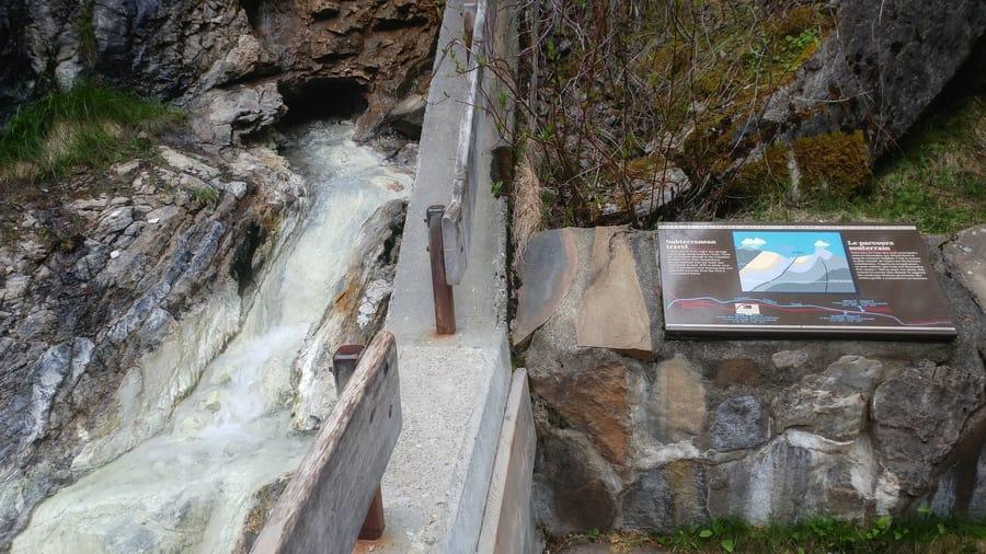 miette hot spring in winter jasper national park