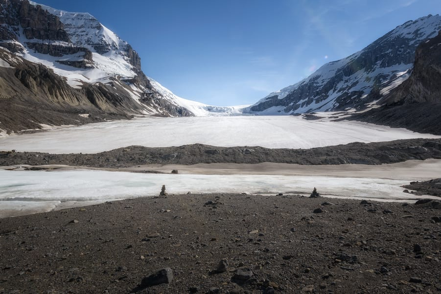 athabasca glacier icefield jasper national park in 7 days