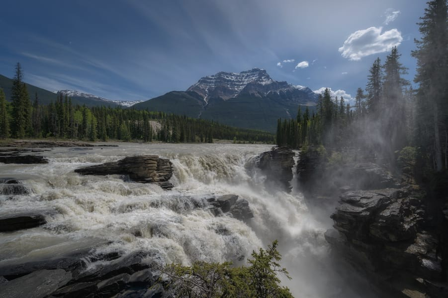 athabasca falls travel guide to jasper national park
