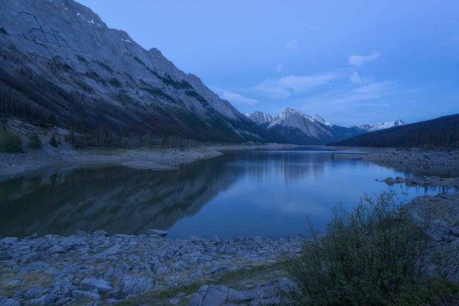 medicine lake the best lake in jasper canada